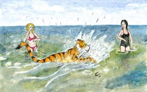 Master the Tiger: Down by the Seaside by PaulEberhardt