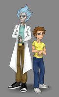D.A.D. 17+18 - Rick and Morty by Whisski