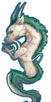 Haku. Bookmark (EDITED) by mcazevedo