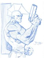 Savage Dragon marchsketchdump by thejeremydale