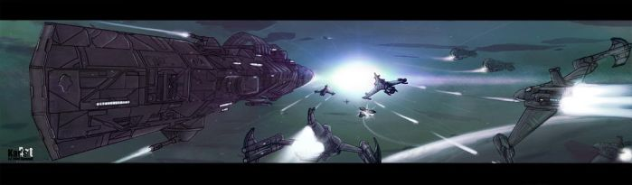 Battle - X3 VS Freelancer by KaranaK