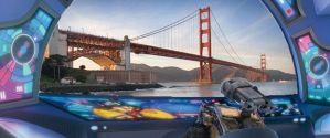 WALL-E visits San Francisco by Dogman15