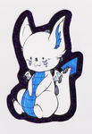 Squishie Badge by Draconegmignis by FloppyToast
