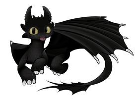 Toothless by Extra-Dan