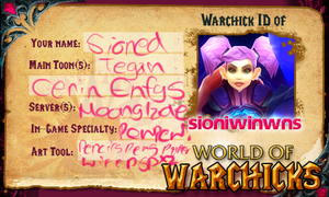 Warchicks ID by SioniWinwns