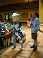 FLCL Cosplayers by HynMayProductions