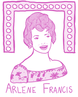 Arlene Francis by FortyFourArrows