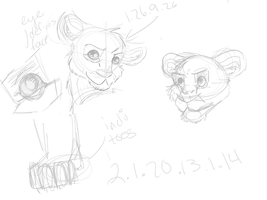Lion King sketches by QuestionRenee