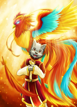Year of the Rooster by Quill-Tail