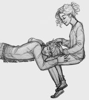 percabeth thing by ah-nada