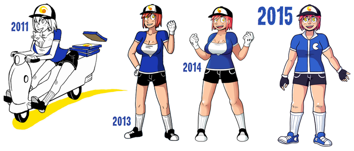 Character Design Evolution : Designevolution explore on deviantart