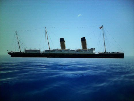 RMS oceanic (1899) by thesketchydude13