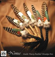 NIMUE Gaelic Smudge Fan by ChaeyAhne
