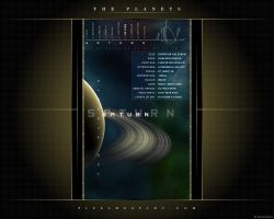 The Planets - Saturn by Hameed