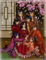 The Color Red - Fushigi Yuugi by falling-starchild