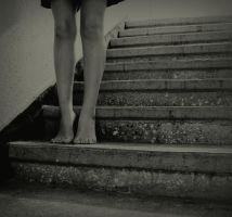 downstairs. by EbeLilith