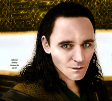 Loki - The Dark World X by AdmiralDeMoy