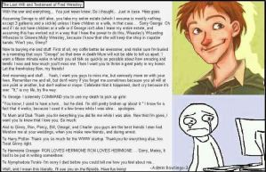 The Last Will and Testament of Fred Weasley by moonrays64
