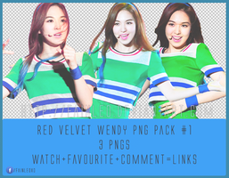 Red Velvet Wendy PNG Pack #1 by fainleo