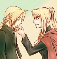 FMA-I made you cry again by BrokenRomance3