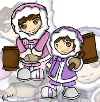 Ice Climbers by rhidica