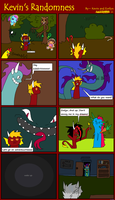 Kevin's Randomness #27 by BlueEvelyn