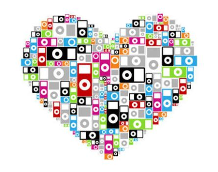 ipod heart by kairnamine