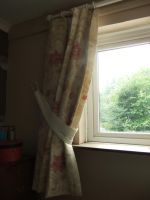 Laura Ashley curtains by sewn-by-honeybirds