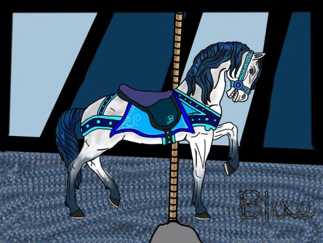 Carousel colors : blue by shadowclaw123456789