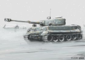 Snow Tiger by VulnePro