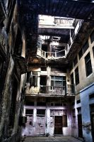 Abandoned Haveli - Walled City by captainautilus