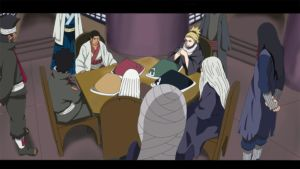 Naruto Chapter 648  First kage Meeting by Nohealsfoyou
