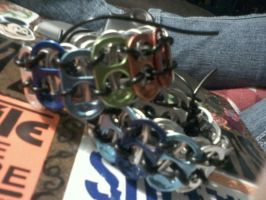 Soda tab bracelets by EllasDesigns