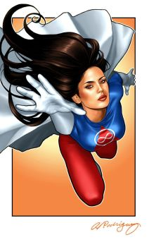 Graviton Girl by A Rodriguez by jhansard
