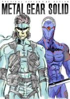 Metal Gear Solid by Just-A-Michael