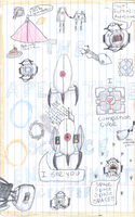 More Portal Doodles by CamKitty2