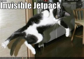 Invisible Jetpack by Bon243