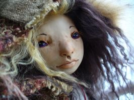 Fawn - art doll - commission by mammalfeathers