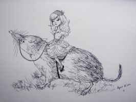The Shrew Rider by decomposerdoll