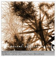 Spikes and Scratches Brush by Scully7491