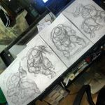 The Turtles WIP by emilcabaltierra