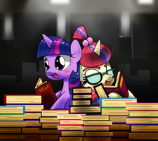 two little book horse by hoyeechun
