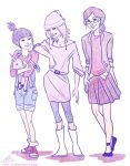 Anges,Edith and Margo by viria13