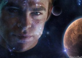 Chris Pine James T. Kirk by CABARETdelDIAVOLO