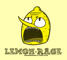LEMON-RAGE by WaywardDoodles