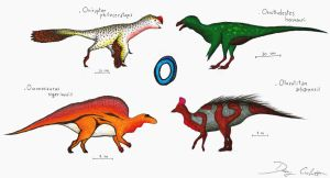 The Dinosaur Alphabet: O by Dennonyx