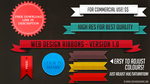 Web Design Ribbons - V.1 by JSWoodhams