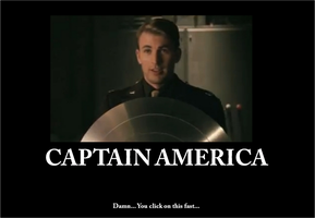Captain America Motivator by ouranhalfkewl