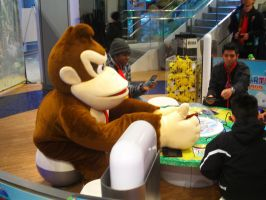 DKCTF at Nintendo World 34 by MarioSimpson1