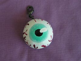 Eye Charm by VoltaicCreations